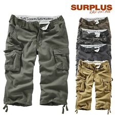 Surplus Shorts Trooper Legend 3/4 Bermuda Cargo Shorts Cargo Shorts S up to XXL
