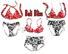 XS-XL - Sunsets Bali Bliss Red & Bali Bliss Black Bikini Swimsuits & Separates