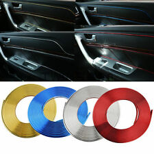5M For Car DIY Multicolor Chrome Interior Decoration Moulding Trim Strip Line