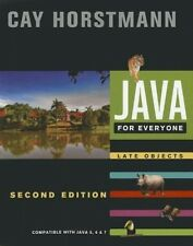 Java for Everyone: Compatible with Java 5, 6, and 7 by Cay S. Horstmann