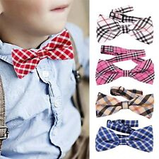 Baby Boys Infant Toddler Bowtie Pre Tied Party Wedding Tuxedo Bow Tie Necktie ES