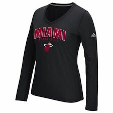 Miami Heat Womens Adidas Double Arch Tee - NWT - MSRP $35