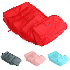5pcs/set Travel Luggage Storage Bag Waterproof Laundry Drugs Bag Organizer Pouch