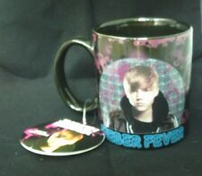 JUSTIN BIEBER MUG - BIEBER FEVER - BRAND NEW WITH TAGS