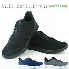 Men's Athletic Sneakers Tennis Shoes Light Weight Running Walking Training Gym