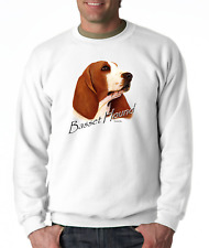 Long Sleeve T-shirt Adult Youth Nature Dog Breed Basset Hound Pet Lover