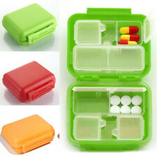 Useful Tool 8 Cells Double Layer Pocket Pill Medicine Box Storage Case Organizer
