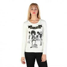 Love Moschino Clothing Women T-shirts White 74759 Outlet BDX