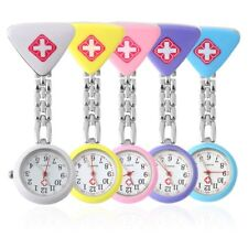 Cute Pendant Butterfly Nurse Clip-on Brooch Quartz Hanging Pocket Watch HOT MC