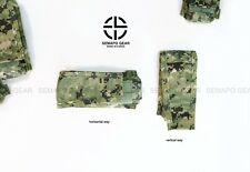 SEMAPO GEAR CP mag pouch AOR2 pouch navy seal (airsoft pouch)- VERTICALl way