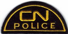 Vintage CN Canadian national Railway police Patch