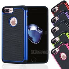 Shockproof Rugged Hybrid Rubber Hard Case Cover for Apple iPhone 4 5 6 6s 7 Plus