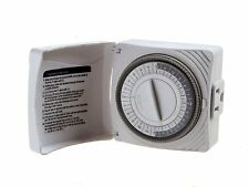 Westek TM07DHB Daily Timer with Grounded Outlet White New