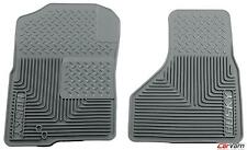 Husky Liners Heavy Duty Grey Custom Front Floor Mats 51222