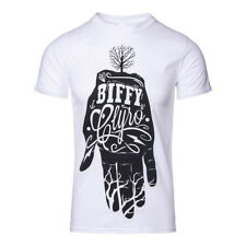 Official T Shirt BIFFY CLYRO White HAND Band Tee All Sizes