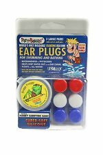 PUTTY BUDDIES Floating Earplugs for Swimming and Bathing, 3-pair pack