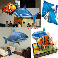 Air Swimmer Remote Control RC Flying Inflatable Fish Shark TOY Blimp Balloon HOT