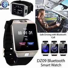 DZ09 Bluetooth Smart Unlock Phone Watch with SIM Camera for IOS Android Pone OZ