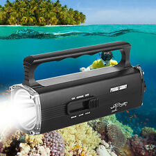 8000LM CREE XM-L2 T6 Scuba Diving Underwater 100M Flashlight Torch Waterproof