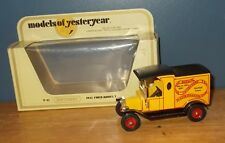 Matchbox Yesteryear Y12 Model T Ford Van Model Collectors Rayleigh Code 2 Model