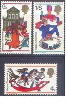 Great Britain 1968 CHRISTMAS (3) SG 775-7 Unhinged Mint
