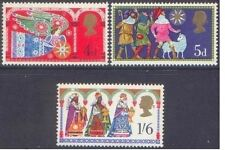 Great Britain 1969 CHRISTMAS (3)  Unhinged Mint SG 812-4