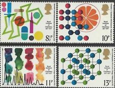 Great Britain 1977 ROYAL INSTITUTE of CHEMISTRY (4) Unhinged Mint SG 1029-32