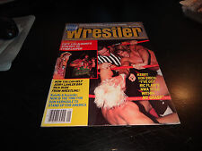 victory sports series the wrestler magazine january 1985 kerry von erich wwf nwa