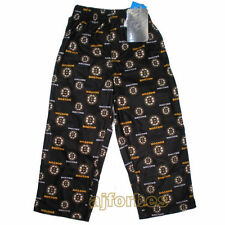 Boston Bruins BOYS GIRLS Kids Sizes 4,5-6,7 Flannel Pajama Lounge Pants
