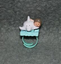 Polly Pocket Ring Delfin Dinkie and Her Dolphin 80er 90er Jahre Vintage Mini 2