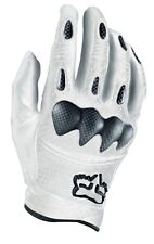 FOX RACING BOMBER S WHITE GLOVES SIZES SM-2XL 01095-008