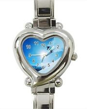 Skiing Extreme Sports Italian Charm Watch (Battery Included)