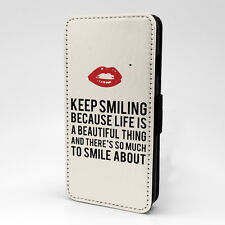 Saying Quote Flip Case Cover For Samsung Galaxy - A1182