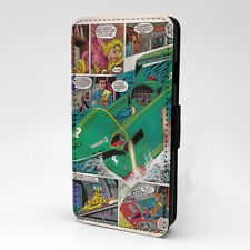 Thunderbird Comic Flip Case Cover For Samsung Galaxy - T885