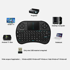 Mini Wireless Keyboard 2.4G with Touchpad Handheld Keyboard for PC Android TV SL