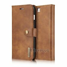 Luxury Vintage Leather Stand card pocket Wallet Cover For Apple iPhone 7 6s plus