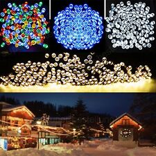 22M 200 LED String Solar Powered Fairy Lights Garden Party Christmas Outdoor