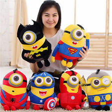 """NEW 8"""" 16""""  DESPICABLE ME MINIONS PLUSH TOYS 3D  EYES CUTE KIDS SOFT DOLL TOYS"""