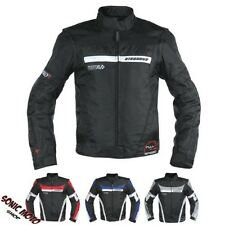 Motorcycle Jacket Sleeve Detachable Fabric CE protectors Removable Vest Heated