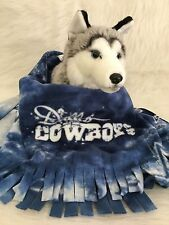 DOG BLANKET, FUZEE FLEECE DOG BLANKET NFL DALLAS COWBOYS TYDIE