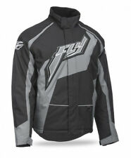 Fly Racing Outpost Trail Snow Jacket Black Grey Free Size Exchanges