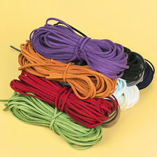 50pcs high quanlity flat bar faux suede leather cord DIY Jewelry