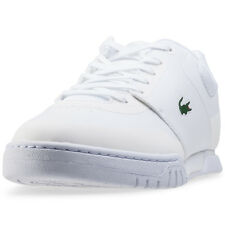 Lacoste Indiana Evo 316 1 Mens Trainers White New Shoes