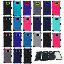 For Samsung Galaxy Note 5 Case Cover Built Screen [Clip Fits Otterbox Defender]