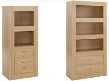 Moda Oak Finish Living Room Furniture - Storage Units Tables TV Stand