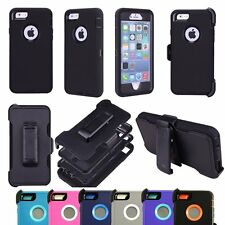 Defender Series Case For iPhone 5 5S SE (Belt Clip fit Otterbox Defender) New