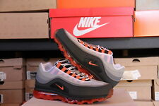 NIKE AIR MAX 24-7 2009 2013 NEUTRAL GREY-ORANGE BLAZE-GREY SZ 11 - [397252-011]