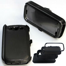 For Samsung Galaxy S3 Case Cover Built In Screen [Clip Fits Otterbox Defender]