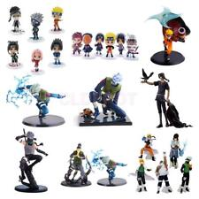 Naruto Shippuden Uzumaki Sasuke Kakashi PVC Action Figure Model Collectibles