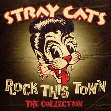 Rock This Town: The Collection by Stray Cats (CD, Jul-2013, Sony Music) Sealed